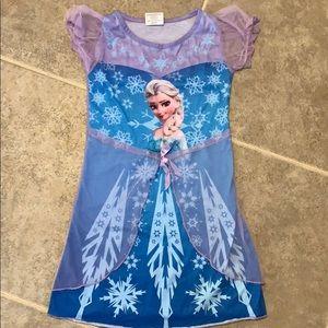 Girls Frozen PJ Dress